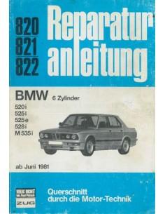 1981 BMW 5 SERIES REPAIR MANUAL GERMAN