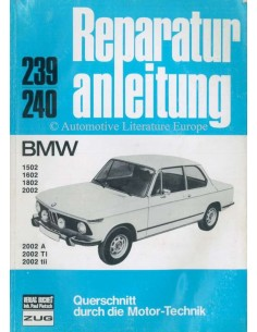 1975 BMW 1502-2002 REPAIR MANUAL GERMAN
