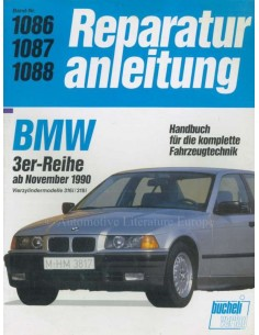 1990 BMW 3ER REPARATURANLEITUNG DEUTSCH