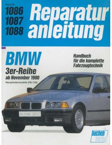 1990 BMW 3 SERIE REPARATIEHANDLEIDING DUITS