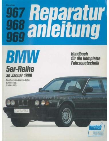 1988 BMW 5 SERIE REPARATIEHANDLEIDING DUITS