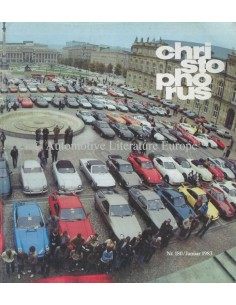 1983 PORSCHE CHRISTOPHORUS MAGAZINE 180 GERMAN
