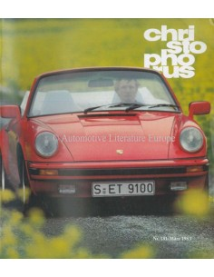 1983 PORSCHE CHRISTOPHORUS MAGAZINE 181 GERMAN