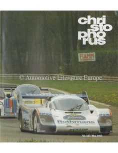 1983 PORSCHE CHRISTOPHORUS MAGAZINE 182 DUITS