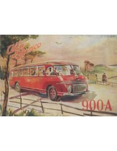 1949 ALFA ROMEO 900 A AUTOBUS BROCHURE FRANS
