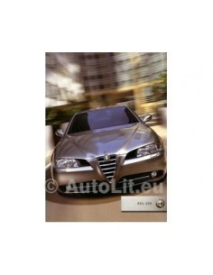 2003 ALFA ROMEO 166 BROCHURE FRENCH