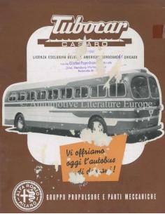 1951 ALFA ROMEO TUBOCAR PROSPEKT ITALIENISCH