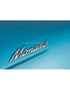 2004 HOLDEN MONARO PROSPEKT ENGLISCH