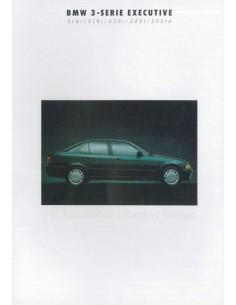1993 BMW 3ER EXECUTIVE DATENBLATT NIEDERLÄNDISCH