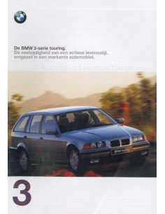 1997 BMW 3 SERIES TOURING BROCHURE DUTCH