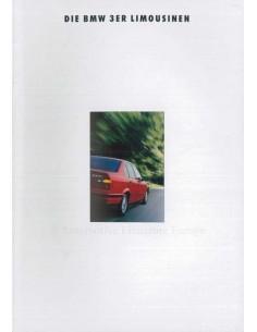 1993 BMW 3 SERIES SALOON BROCHURE GERMAN
