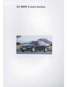 1993 BMW 3 SERIES SALOON BROCHURE DUTCH