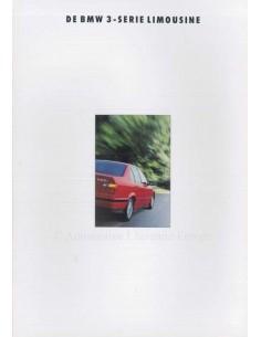 1992 BMW 3 SERIES BROCHURE DUTCH