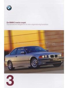 1997 BMW 3ER COUPE PROSPEKT NIEDERLÄNDISCH