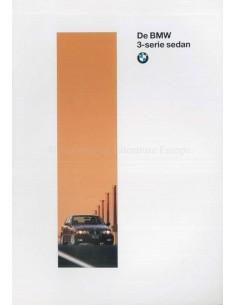 1995 BMW 3 SERIES SALOON BROCHURE DUTCH