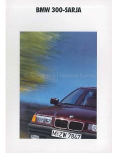 1990 BMW 3ER PROSPEKT FINNISCH