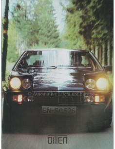 1984 BITTER SC COUPE BROCHURE GERMAN