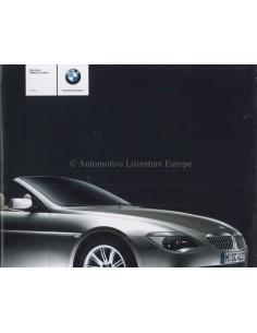 2003 BMW 6ER CABRIO PROSPEKT DEUTSCH