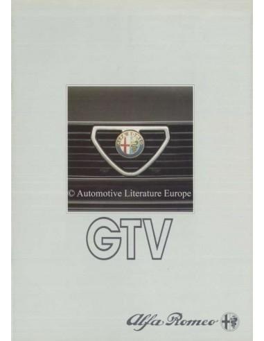 1983 ALFA ROMEO GTV BROCHURE NEDERLANDS