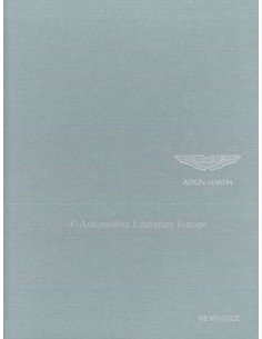 2008 ASTON MARTIN V8 VANTAGE HARDBACK BROCHURE ENGLISH