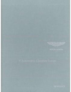 2008 ASTON MARTIN V8 VANTAGE HARDCOVER PROSPEKT ENGLISCH