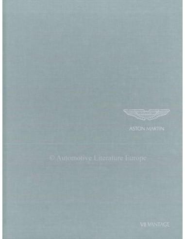 2008 ASTON MARTIN V8 VANTAGE HARDBACK BROCHURE ENGLISH