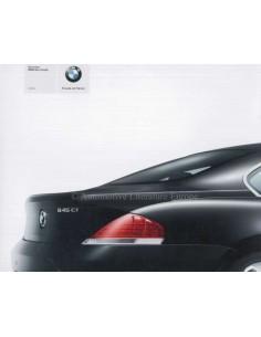 2003 BMW 6ER COUPE PROSPEKT DEUTSCH