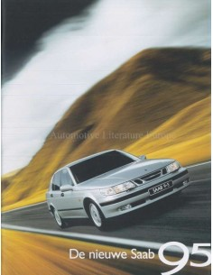 1998 SAAB 9-5 BROCHURE DUTCH