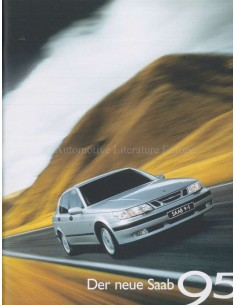 1998 SAAB 9-5 BROCHURE GERMAN