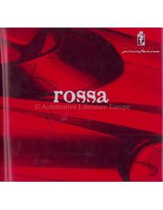 2000 FERRARI ROSSA PININFARINA PRESSE PROSPEKT