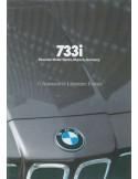 1980 BMW 7 SERIES BROCHURE ENGLISH (US)
