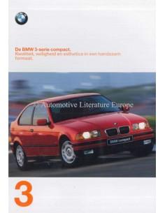 1997 BMW 3ER COMPACT PROSPEKT NIEDERLANDISCH