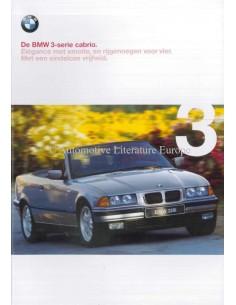 1999 BMW 3ER CABRIOLET PROSPEKT NIEDERLÄNDISCH