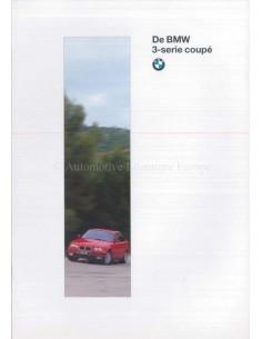 1996 BMW 3ER COUPE PROSPEKT NIEDERLANDISCH