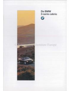 1996 BMW 3ER CABRIOLET PROSPEKT NIEDERLÄNDISCH