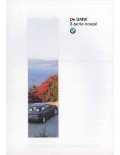 1995 BMW 3 SERIES COUPE BROCHURE DUTCH