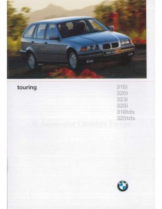 1996 BMW 3 SERIES TOURING BROCHURE DUTCH