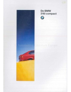 1994 BMW 3 SERIES COMPACT BROCHURE DUTCH