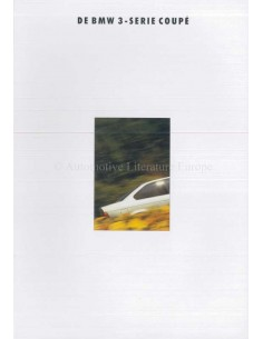 1993 BMW 3ER COUPE PROSPEKT NIEDERLANDISCH