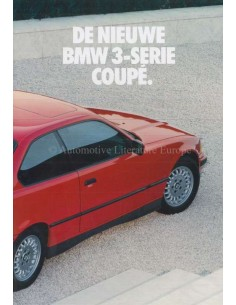 1992 BMW 3 SERIES COUPE BROCHURE DUTCH