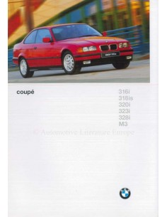 1996 BMW 3 SERIES COUPE BROCHURE DUTCH