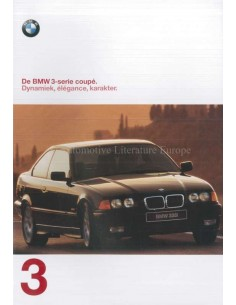 1997 BMW 3 SERIES COUPE BROCHURE DUTCH