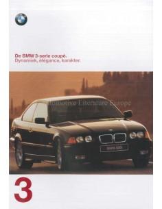 1997 BMW 3ER COUPE PROSPEKT NIEDERLANDISCH
