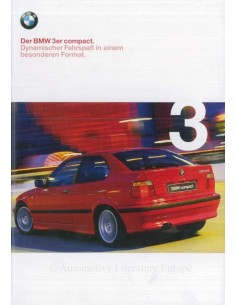 2000 BMW 3 SERIES COMPACT BROCHURE GERMAN