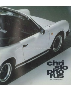 1982 PORSCHE CHRISTOPHORUS MAGAZINE 175 GERMAN