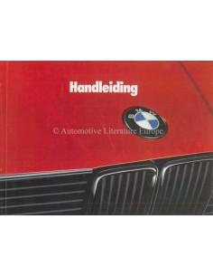 1988 BMW 3ER BETRIEBSANLEITUNG NIEDERLÄNDISCH