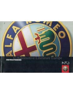 2008 ALFA ROMEO MITO BETRIEBSANLEITUNG NIEDERLÄNDISCH