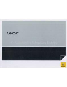 2007 RENAULT RADIOSAT INSTRUCTIEBOEKJE