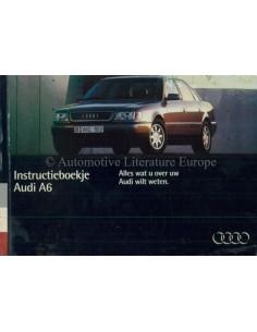 1994 AUDI A6 BETRIEBSANLEITUNG NIEDERLÄNDISCH