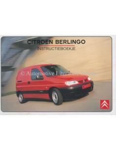 1999 CITROEN BERLINGO OWNERS MANUAL DUTCH
